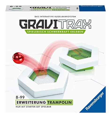 Ravensburger GraviTrax Erweiterung Trampolin - Ideales Zubehör für spektakuläre Kugelbahnen,...