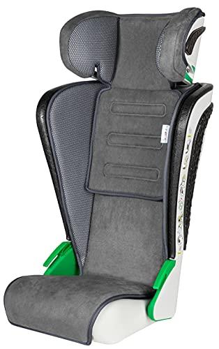 Walser Auto Kindersitz Noemi, klappbarer Kinderautositz mit höhenverstellbarer Kopfstütze, ECE R129...