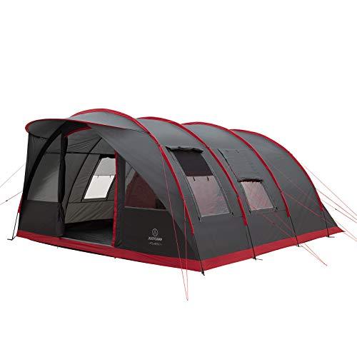 Familienzelt Justcamp Atlanta 7, Tunnelzelt für 7 Personen mit Vordach und Boden