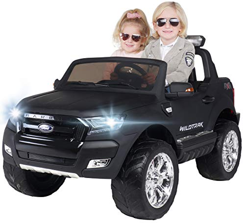 Actionbikes Motors Kinder Elektroauto Ford Ranger Wildtrak - Allrad 4x4 - Touchscreen - 2 Sitzer - 4 x 45...