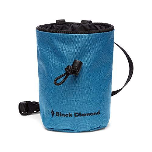 Black Diamond MOJO CHALK BAG, Robuster Chalkbag / Magnesia-Beutel zum Klettern und Bouldern, Astral Blue,...