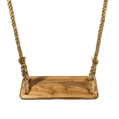 ValueHall Schaukel Kinderschaukel aus Holz Brettschaukel Holz Schaukel Kinderschaukel mit verstellbarem...