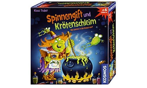 KOSMOS 698652 - Spinnengift und Krötenschleim: Was kommt in den Kessel rein? lustiges Merkspiel für 2 -...