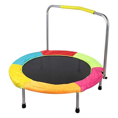DAUERHAFT Soft Mini 100kg Lager Kinder Trampolin Tragbarer Rebounder Kinder Rebounder Faltbar für...