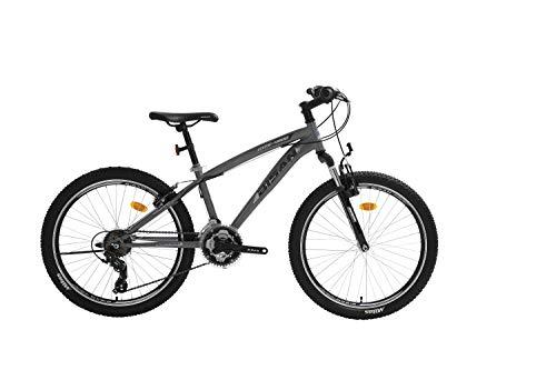 T&Y Trade 24 Zoll Kinder Jungen Mädchen Jugend MTB Fahrrad Kinderfahrrad Mountainbike Jugendfahrrad 21...