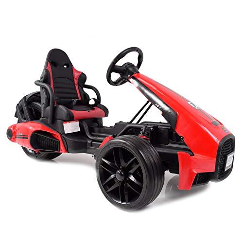 fit4form Kinder Elektro Go Kart Super Speed XR-1 12V Kinderauto elektrisch Gokart Elektrocart