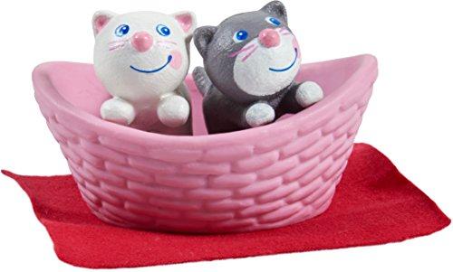 HABA 303891 - Little Friends – Katzenbabys | Süße Haustiere für die Little Friends-Biegepuppen | Mit...