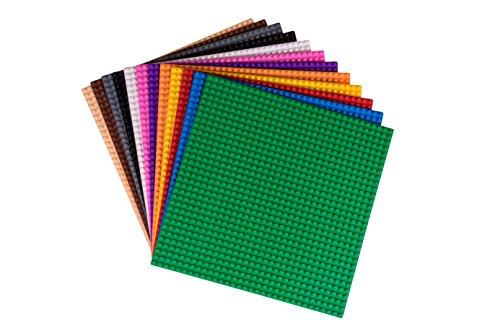 Strictly Briks - Bauplatten - 100 % kompatibel mit Allen führenden Marken - Flache Unterseiten zum Bauen...