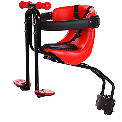 OATop Kindersitz Fahrrad, Fahrrad Kindersitz Vorne mit Pedal und Griff, Leicht Anzubringen, Bequem...