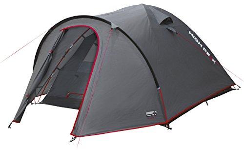 High Peak Kuppelzelt Nevada 3, Campingzelt mit Vorbau, Iglu-Zelt für 3 Personen, doppelwandig, 3.000 mm...