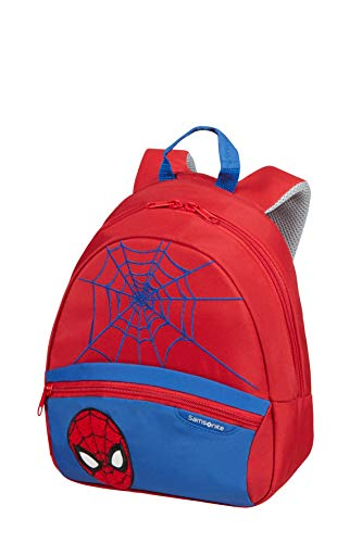 Samsonite Disney Ultimate 2.0 - Kinderrucksack S, 28.5 cm, 7 L, Rot (Spider-Man)