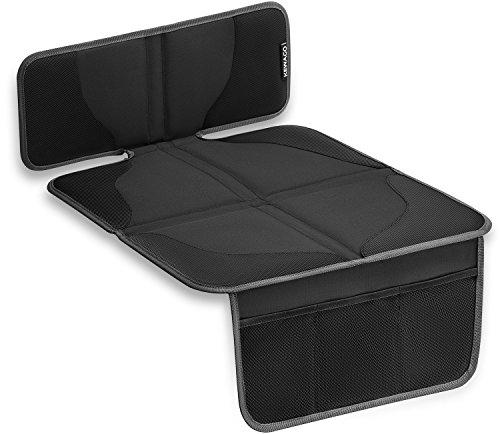 KEWAGO Kindersitzunterlage für Autositzerhöhungen. Autositz-Schutz Schoner für Sitzerhöhung /...