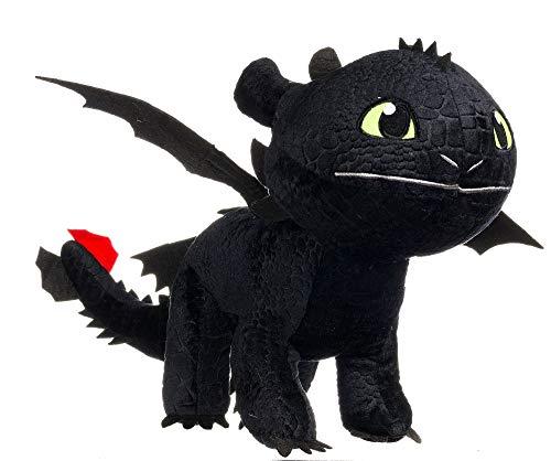 Dragons Ohnezahn / Toothless Dark Fury Pluesch XXL 95 cm