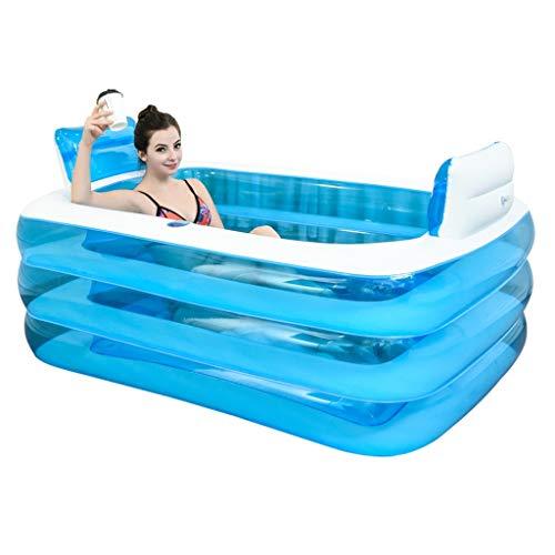Aufblasbare Pools Aufblasbare Badewanne Spa Badewanne Verdickte Erwachsene Badewanne Strandbadewanne...