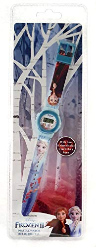 Disney - Die Eiskönigin 2 KL82501 Reloj digital ke02 de Frozen 2 Disney Cars Armbanduhr, Bunt, One Size