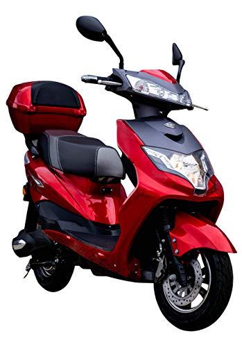 "Elektroroller ""EAGLE"", 2000 Watt, 60 km Reichweite, 45 km/h, E-Scooter, Elektro-Roller, E-Roller mit..."