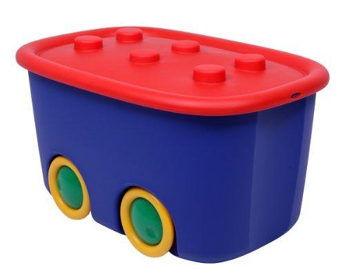 Ondis24 Spielzeugaufbewahrungsbox Spielzeugkiste Aufbewahrungsbox Kinder Spielzeugbox Funny mit großen...