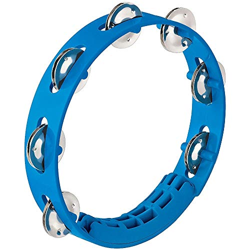 NINO Percussion Compact ABS Tambourine 8' - Sky Blue (NINO49SB)