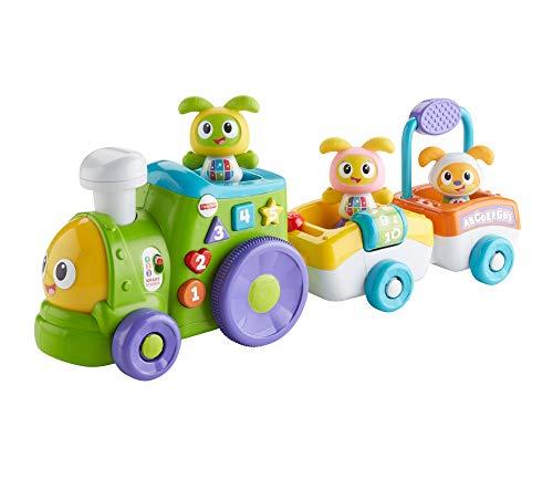 Fisher-Price FXH94 - Tanzspaß BeatBo Zug, Lernspielzeug mit mitwachsenden Spielstufen, Liedern und...