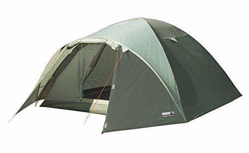 High Peak Kuppelzelt Nevada 3, Campingzelt mit Vorbau, Iglu-Zelt für 3 Personen, doppelwandig, 2.000 mm...