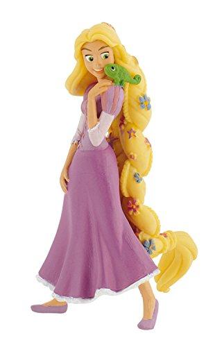 Bullyland 12424 - Spielfigur, Walt Disney Rapunzel mit Blumen, ca. 10 cm groß, liebevoll handbemalte...