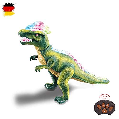 HSP Himoto XXL RC Ferngesteuerter Dinosaurier T-Rex mit Sound, LEDs, realistische Bewegungen,...