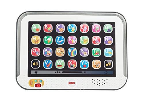 Mattel Fisher-Price CDG57 - Lernspaß Tablet, grau, babyspielzeug ab 1 jahr