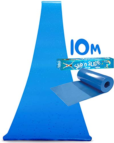 Offizielle XXL Riesige Wasserrutschmatte | 10 Meter Wasserrutsche | Bauch Rutscher Premium Qualität |...