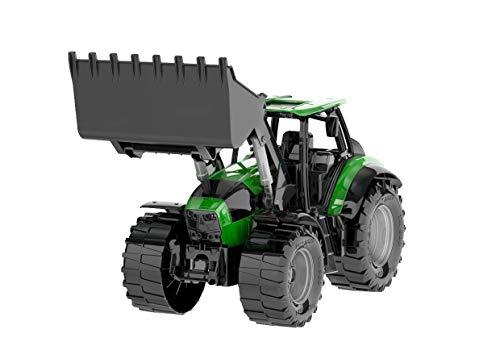 Lena 4613 x Worxx Traktor Modell Deutz-Fahr Agrotron 7250 TTV mit Frontlader, ca. 45 cm, Landwirtschaft...