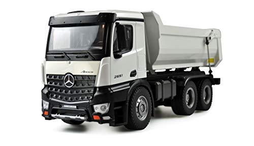 Amewi 22413 weiß Mercedes LKW Kipper PRO Metall 2,4GHz RTR