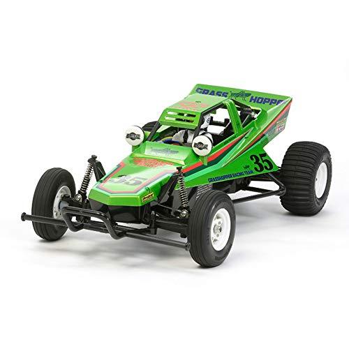TAMIYA 300047348 1:10 The Grasshopper 2005 Candy Green, ferngesteuertes Auto, RC Fahrzeug, Modellbau,...