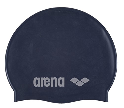 arena Kinder Unisex Wettkampf Badekappe Classic Silikon Junior (Verstärkter Rand, Weniger Verrutschen),...