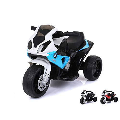 BMW S 1000 RR Deluxe Edition - Kinder Elektromotorrad Ride on original Design Lizenzmodell Superbike mit...