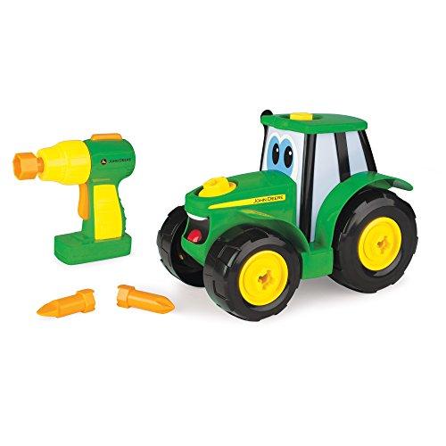 John Deere Bau-Dir-Deinen-Johnny-Traktor, Kinder Traktor zum Selbstbauen, Hochwertiger Traktor für...