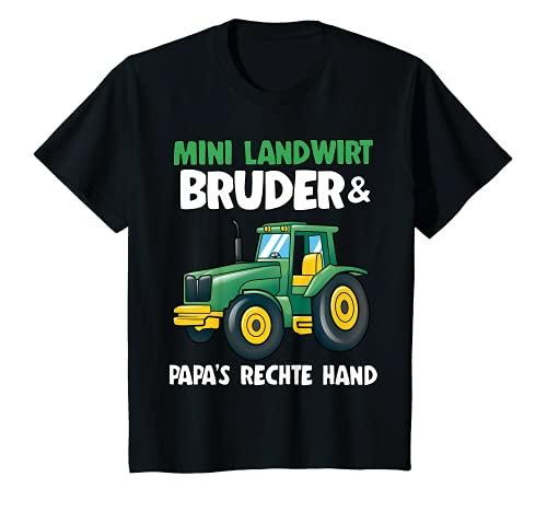 Kinder Mini Landwirt Bruder Traktoren Jungs Lustiges Bruder Traktor T-Shirt