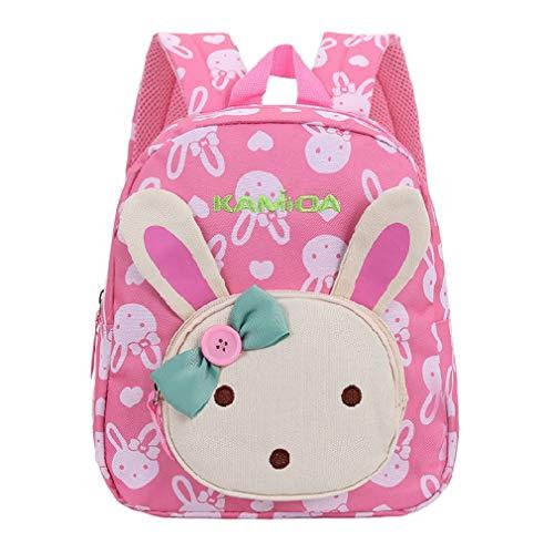 X-Labor 3D Bunny Babyrucksack ab 1 Jahr Minirucksack Kindergartenrucksack Backpack Schultasche...