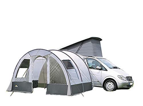 dwt Buszelt Rodeo II 340x240 cm grau Reisezelt Mobilzelt Tunnelzelt Camping Outdoor freistehend...