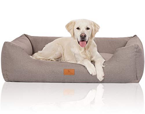 Knuffelwuff 14097-014 Hundebett Hundekörbchen Hundesofa Hundekissen Hundekorb Bezug Waschbar Grosse...