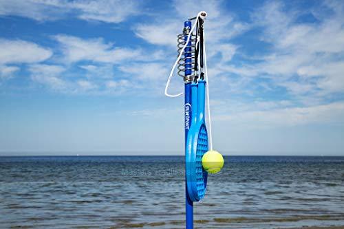Sunsport Tether Ball Gartenspiel, blau, Einheitsgröße
