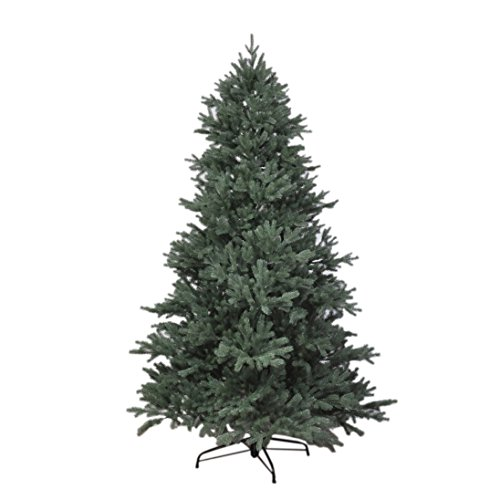 RS Trade HXT 1418 künstlicher PE Spritzguss Weihnachtsbaum 210 cm (Ø ca. 132 cm) mit ca. 4850 Spitzen,...
