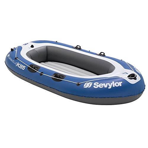 Sevylor Schlauchboot Caravelle K85, aufblasbares Boot, 2 bis 3 Personen, mit Vorrichtung für...