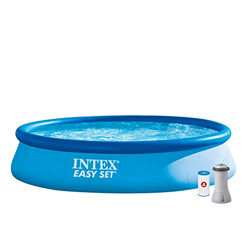 Intex Easy Set Pool - Aufstellpool - mit Filter, 396cm x 84cm
