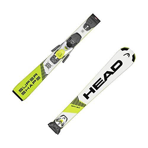 HEAD Kinder Ski Supershape SLR Pro/SLR 7,5 GW inkl. Bindung Weiss/gelb (906) 140