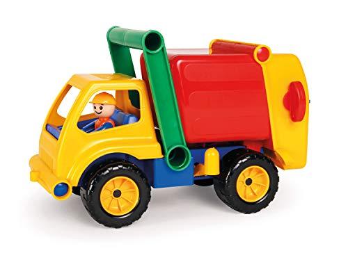 Lena 04356 Aktive Müllwagen LKW, Müllfahrzeug ca. 30 cm, robustes Müllauto mit verriegelbarem...