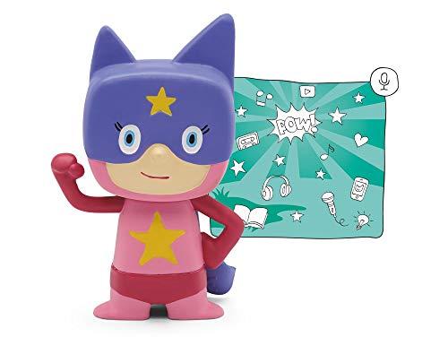 tonies Hörfiguren für Toniebox - Kreativ Superheld Mädchen - ca. 90 Minuten Speicher für Deine Musik,...