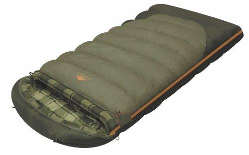 ALEXIKA Camping & Outdoor Schlafsack Siberia Wide Plus, linke Reißverschluss Deckenschlafsacke,...