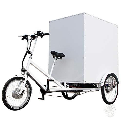 E-Lastenrad E-Donkey Cargo Fahrrad, ideal für den Transport von Lasten, 250 Watt, E Roller