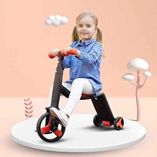 3 In 1 Roller Für Kinder 3 Wheel Kick Scooter Mit Sitz Perfekt Für Kleinkinder Mädchen Und Jungen...