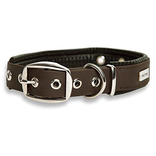 PetTec Halsband für große & kleine Hunde aus Trioflex™ | wetterfest & verstellbar, in Farbe |...