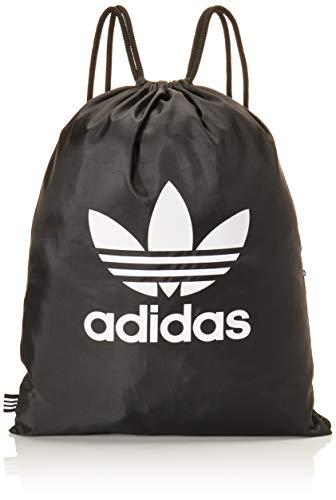 adidas Unisex-Adult Trefoil Carry-On Luggage, Black, Einheitsgröße